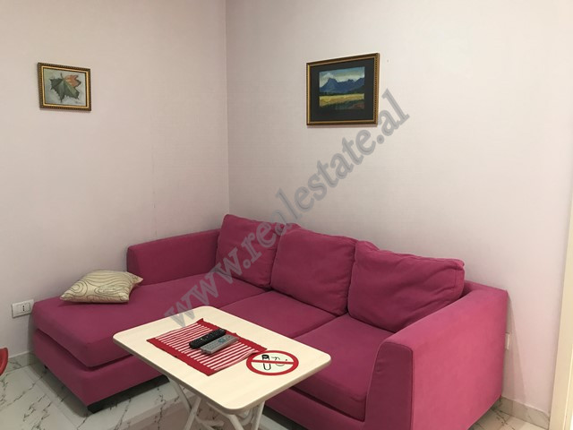 The apartment is situated on the 3d floor of a new building nearby Globe Center close to the main st