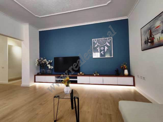 Apartment for sale in Sami Frasheri street in Tirana, Albania. It is situated on the 6th floor of