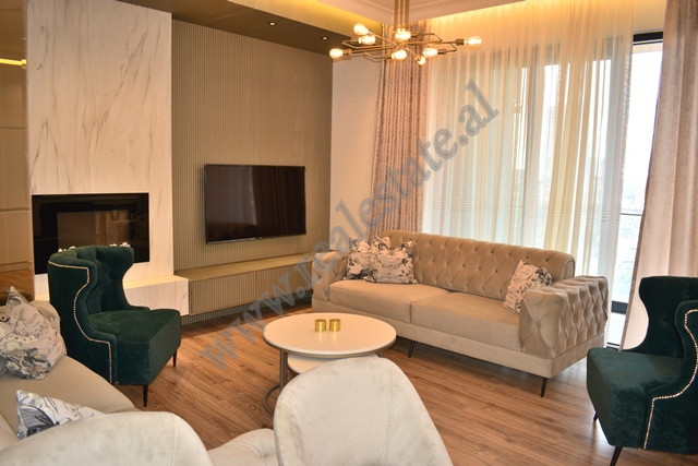 Modern apartment for rent in Elbasani street in Tirana, Albania. The house is part of a new buildin