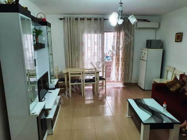 Apartment for sale in Haxhi Hysen Dalliu street in Tirana, Albania. It is placed on the first floor