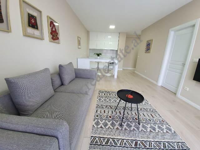 Apartament 1+1 per shitje ne rrugen Panorama ne Tirane. Pozicionuar ne nje pallat modern te vitit 2