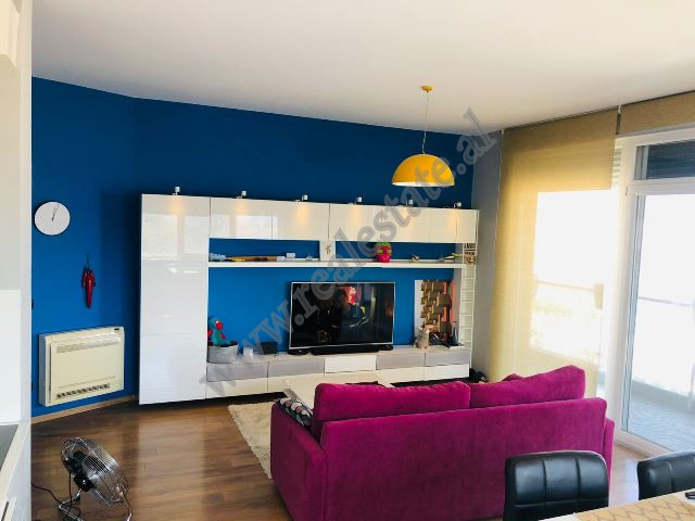 Apartment for sale in Selite e Vjeter street in Tirana, Albania. The flat is positioned on the four