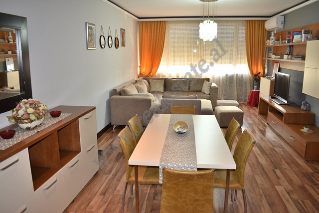 Apartment for rent near the American Embassy in Tirana, Albania. It is placed on the fourth floor o