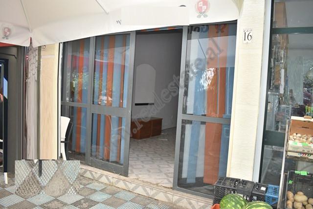 Dyqan per shitje ne rrugen Muzaket ne Tirane. Pozicionohet ne katin perdhe te nje pallati te ri.&nb