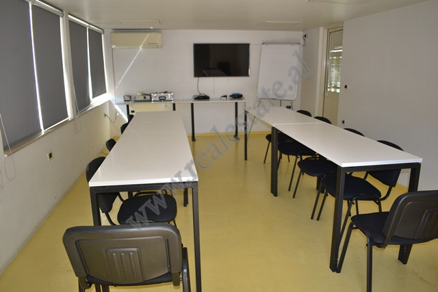 Office for rent in Brigada VIII street in Tirana, Albania. The space is part of a new building with
