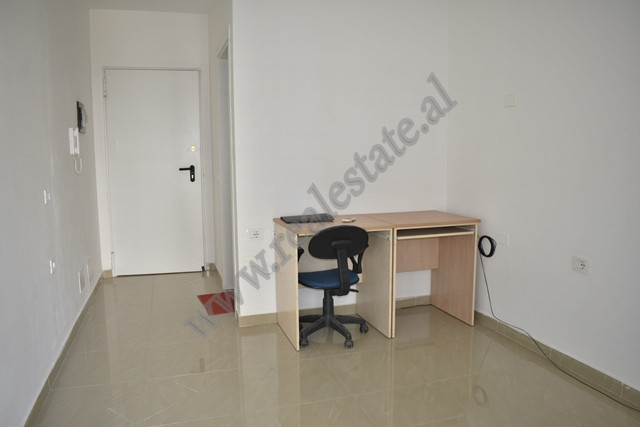 Office for rent in Ndre Mjeda street in Tirana, Albania. It is placed on the third floor of a new b