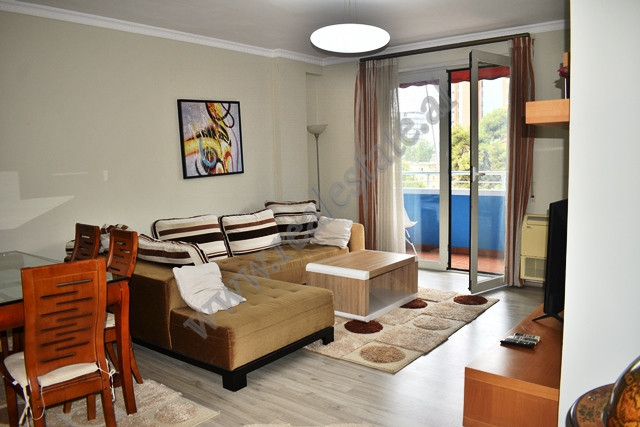 Apartment for sale in Mustafa Matohiti street in Tirana, Albania. It is situated on the fourth floo