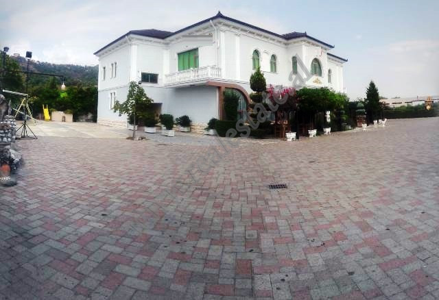 Bar-restaurant and wedding space for rent in Preze village in Tirana, Albania. The space has a land