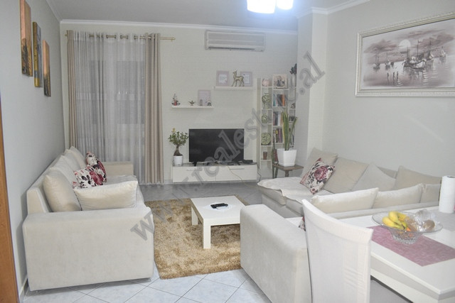 Two-bedroom apartment for sale in 5 Maji street in Tirana, Albania. It is situated on the second fl