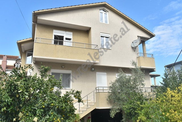 Villa for rent in Selim Brahja street in Tirana, Albania. It has a land surface of 613 sqm and a co