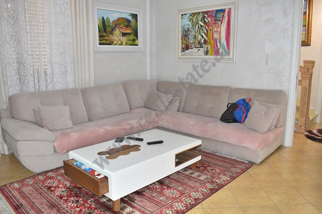 Three-bedroom apartment for rent in Gramoz Pashko street in Tirana, Albania. It is situated on the