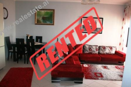 Apartament 1+1 me qera ne rrugen Stavri Themeli ne Tirane.  Banesa pozicionohet ne katin e Vi-te t