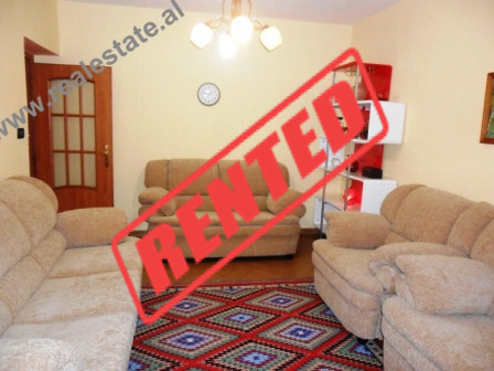 Two bedroom apartment for rent in Qemal Guranjaku Street in Tirana.  Although it is situated on th