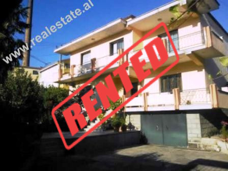 Two storey villa for rent in Tirana.