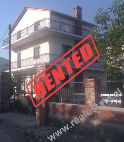Three storey villa for rent in Tirana.  The villa is furnished in contemporary style, with all nec