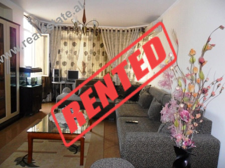 Two bedroom apartment for rent in Komuna Parisit Area in Tirana.  The apartment is located in a ve