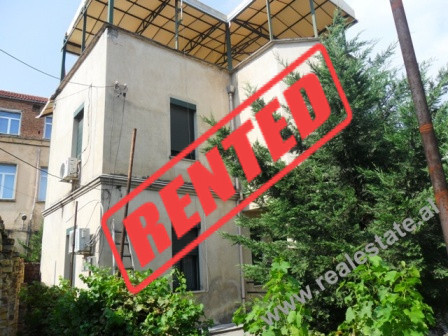 Two storey villa for rent close to the Train Station in Tirana.  The villa is located in the main