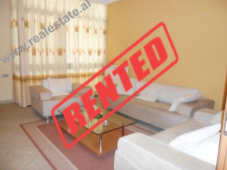 Two bedroom apartment for rent in Sami Frasheri Street in Tirana.  This property is located in the
