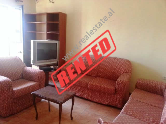 Apartment for rent in Asim Vokshi Street in Tirana, Albania.  The apartment is situated on the 5th