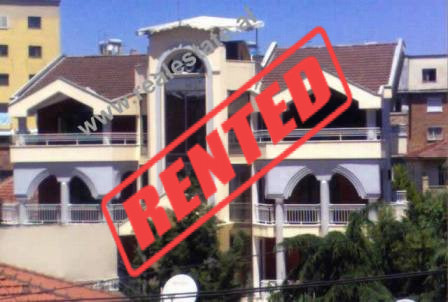 Four storey villa for rent close to Zhan D'Ark Boulevard in Tirana.  This property is built