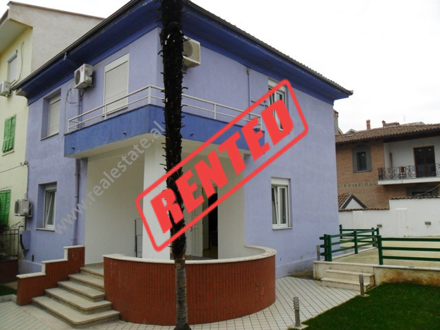 Two storey Villa for rent in Sotir Kolea Street in Tirana. The Villa has an area of about 400 sqm. T