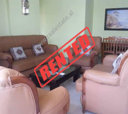 Two bedroom apartment for rent in Grigor Gjirokastriti Street in Tirana.