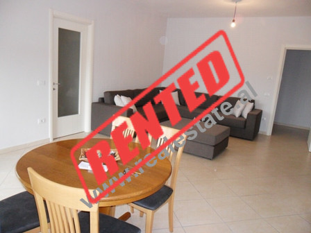 Two bedroom apartment for rent in Don Bosko Street in Tirana.  The apartment is situated on the fo