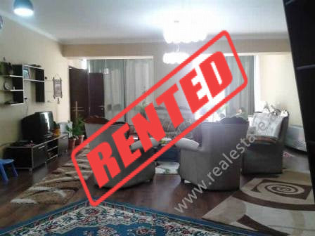 Apartment for rent in Tish Daija Street in Tirana. The apartment is positioned on the 6th floor of