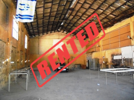 Warehouse for rent in Zenel Bastari Street in Tirana. The warehouse is located in a well known area