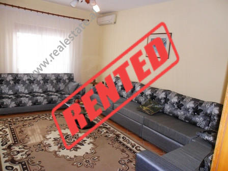 Apartment for rent in Eshref Frasheri Street in Tirana.  It is situated on the 2-nd and 3-rd in a