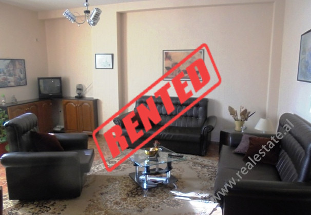 Apartment for rent in Sulejman Delvina street in Tirana. It is situated on the 3-rd floor of a buil