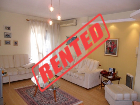 Apartment for rent in Bogdaneve Street in Tirana.  It is situated on the 3-rd floor in a new build