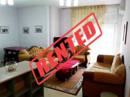 Apartment for rent at the beginning of Pjeter Budi Street in Tirana.  It is situated on the 5-the