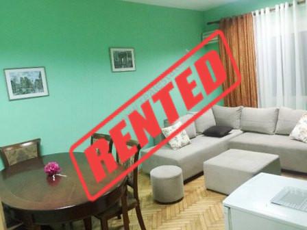 Apartament 1+1 me qera prane Drejtorise se Policise ne Tirane.  Pozicionohet ne nje pallat eksistu