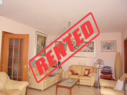 One bedroom apartment for rent in Bogdaneve street in Tirana.  Positioned on the 8th floor of a ne