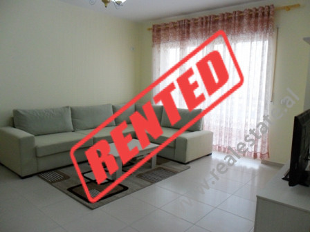 Apartment for rent at Panorama Complex in Tirana.  It is situated on the 7-th floor near Asim Voks