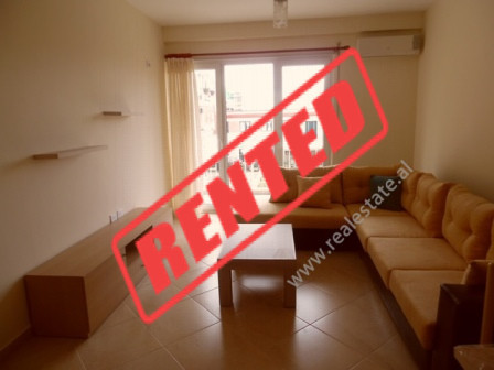 Two bedroom apartment for rent in Jordan Misja Street in Tirana.  The apartment is situated on the