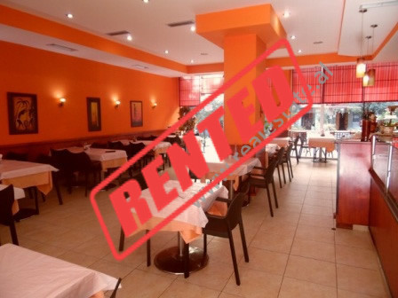 Bar-Restaurant for rent in rrugen Skender Luarasi ne Tirane.