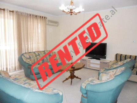 Apartment for rent near Ministry of Foreign Affairs in Tirana.  It is situated on the 9-th floor i