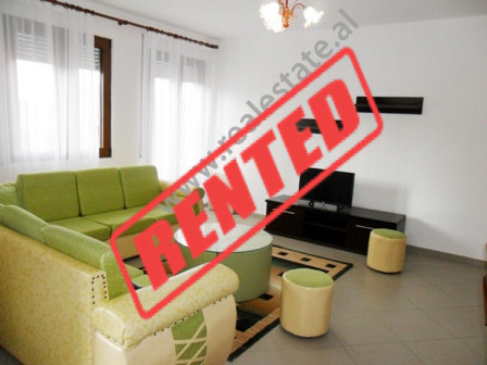 Apartment for rent near Sulejman Delvina Street in Tirana  It is situated on the 3-rd floor in a n