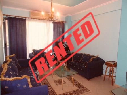 Three bedroom apartment for rent close to Elbasani Street in Tirana.  The apartment is situated on