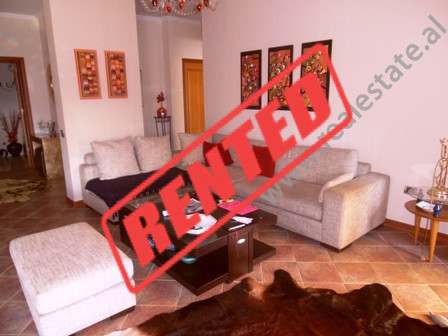One bedroom apartment for rent close to Kavaja Street.  It is situated on the 8th floor of a new b