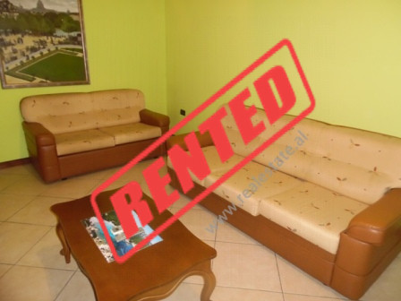 One bedroom apartment for rent in Mine Peza street in Tirana.  The apartment it is situated on the