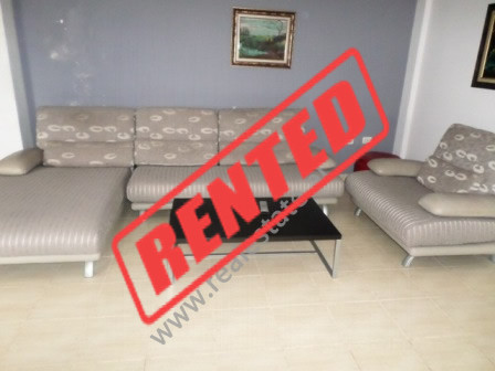 Two bedroom apartment for rent in Mine Peza street in Tirana.  The apartment is situated in 6th fl