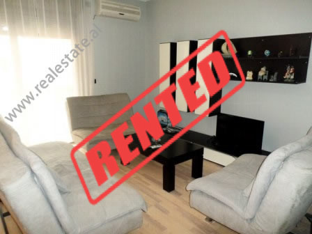 Two bedroom apartment for rent in Bardhok Biba Street in Tirana.