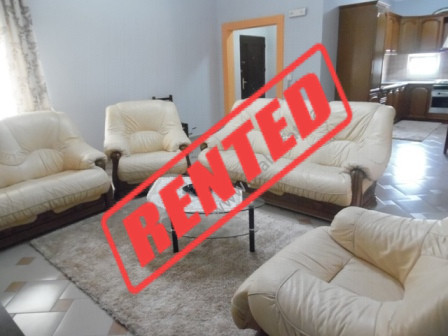 Two bedroom apartment for rent close to Petro Nini High School in Tirana.  It is situated in 5th f