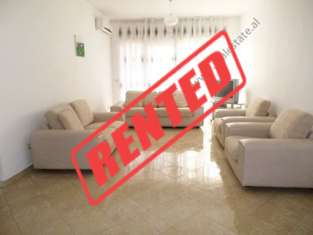 Apartment for rent close to Vizion Plus Complex in Tirana.  It is situated on the 2-nd floor of a
