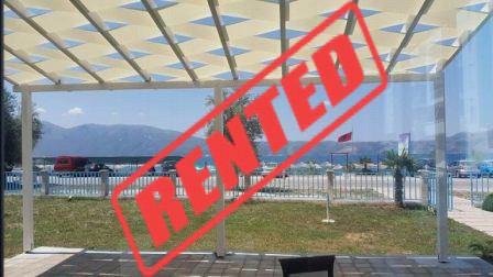Bar-coffee for rent close to the beach in Radhima area in Vlora city.  The bar-coffee is situated