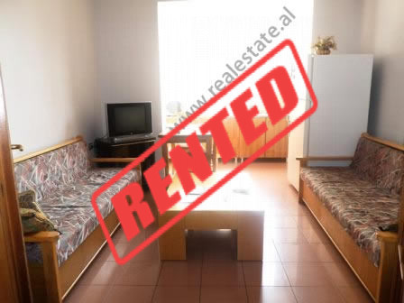 Three bedroom apartment for rent close to Rinia Park in Tirana.  It is situated on the 3-th floor