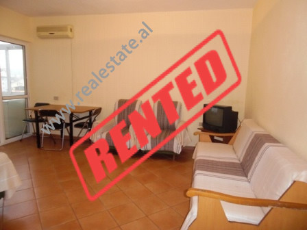 Apartment for rent close Mine Peza street in Tirana.  The apartment is situated on the seven floor